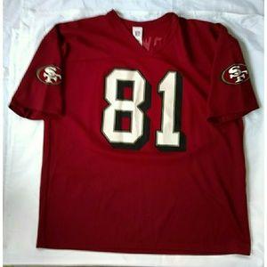 VINTAGE NFL TERREL OWENS SF 49ERS JERSEY